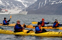 Sea Kayaking in Antarctica