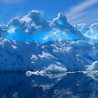 Peregrine/Quark Expeditions blue icebergs